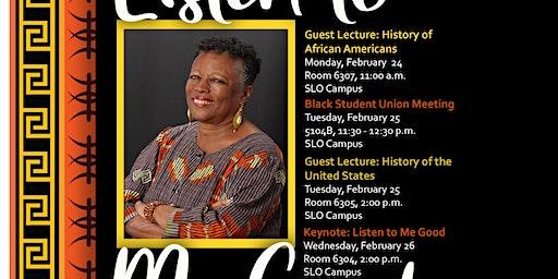 Black History Month - Cuesta College