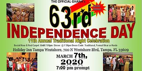 Ghana's 63rd Independence Celebration & Kente Dance Dinner tickets