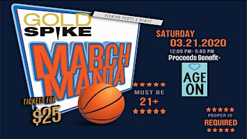 March Mania Event - Age On Charity Event