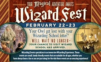 """Wizard Fest- """"All Things Harry Potter"""""""