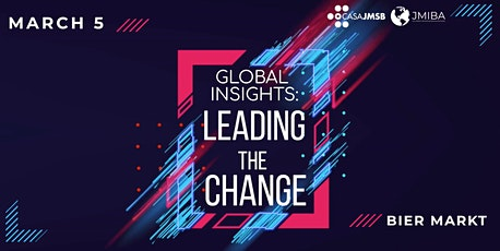 Global Insights: Leading the Change tickets