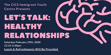 Let's Talk: Healthy Relationships tickets