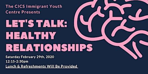 Let's Talk: Healthy Relationships