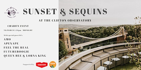 Sunset & Sequins at The Clifton Observatory - Charity Event tickets