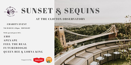 Sunset & Sequins at The Clifton Observatory - Charity Event