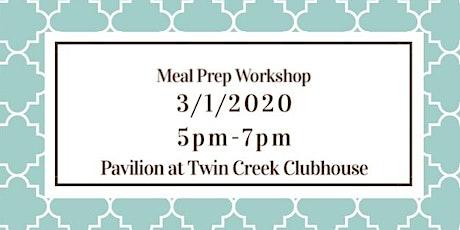 Meal Prep Workshop tickets