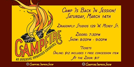 CAMPFIRE - Improv outdoor show! tickets