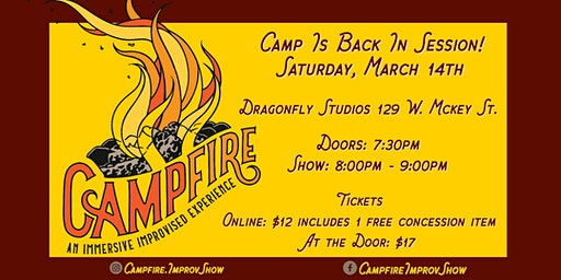 CAMPFIRE - Improv outdoor show!