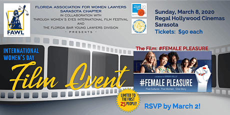 SRQ-FAWL Event with Through Women's Eyes International Film Festival tickets