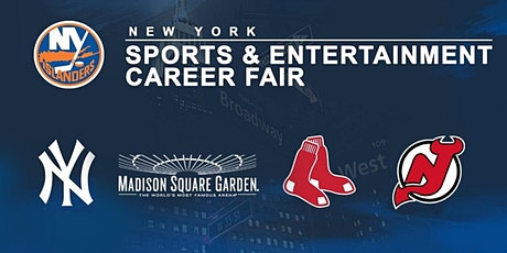 New York Sports and Entertainment Career Fair (hosted by the NY Islanders) tickets