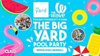 Big Yard Pool Party tickets
