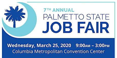 JOB SEEKER Registration - 2020 Palmetto State Job Fair Hosted by ECPI tickets