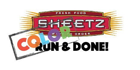 Sheetz Color Run & Done 5K tickets