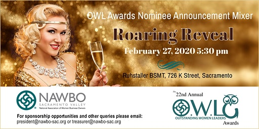 Roaring Reveal: OWL Awards Nominee Announcement Mixer