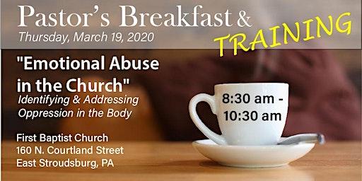 FCCS' Poconos Pastor Breakfast