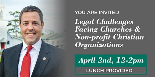 Legal Challenges Facing The Church & Nonprofit Organizations!