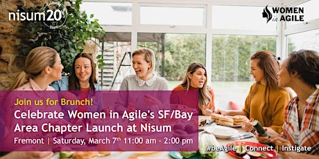 Celebrate Women in Agile's SF/Bay Area Chapter Launch with Nisum! tickets