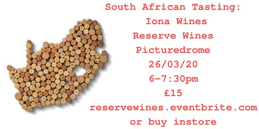 South African Tasting: Iona Wines