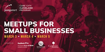 Meetups for Small Businesses: hosted by JumpStart