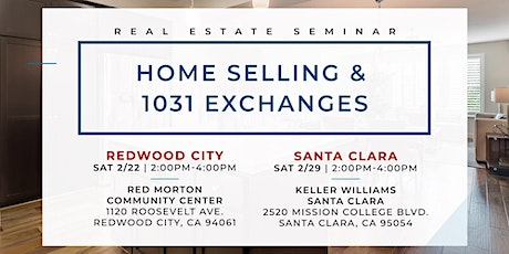 A 2020 Guide to Home Selling and 1031 Exchanges (Santa Clara) tickets