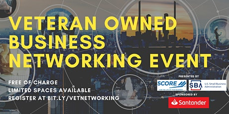 Veteran Owned Business Networking Event tickets
