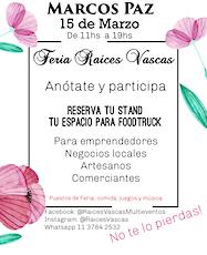 FERIA RAICES VASCAS entradas