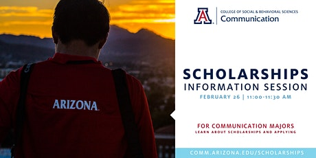 COMM Scholarships Information Session tickets