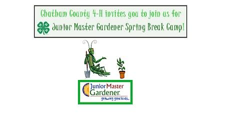 Junior Master Gardener Spring Break Camp tickets