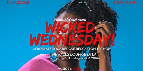 Wicked Wednesday (Every Second and last Wednesday) tickets