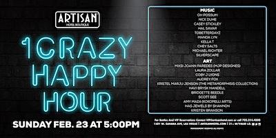1 Crazy Happy Hour – FREE EVENT