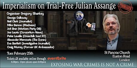 Imperialism on Trial - Free Julian Assange tickets