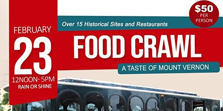 Food Crawl: A Taste of Mount Vernon tickets