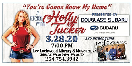A Night with Holly Tucker tickets
