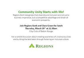 Community Unity Starts with Me!