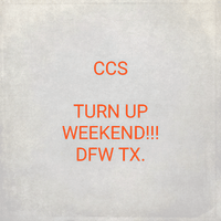 Common City Slyde (CCS) Turn Up Weekend