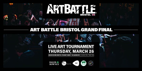 Art Battle Bristol Grand Final - 26 March, 2020 tickets
