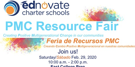 Ednovate's First Annual PMC Resource  Fair tickets