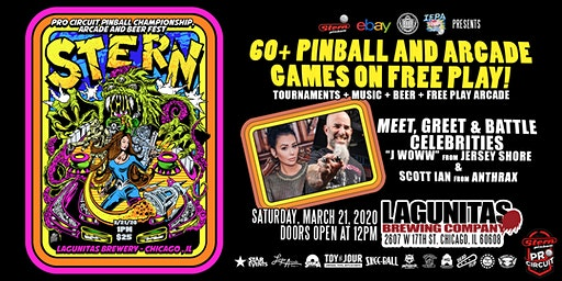 STERN PRO CIRCUIT PINBALL CHAMPIONSHIPS, ARCADE AND BEER FEST