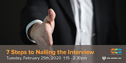 7 Steps to Nailing the Interview