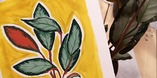 How To Paint Plants in Gouache Workshop