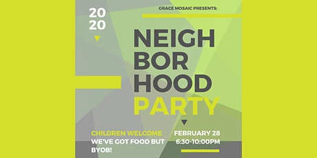 Grace Mosaic Neighborhood Party tickets