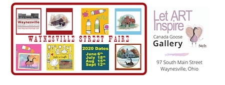 Waynesville Street Faire - June 6, 2020