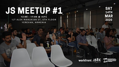 JavaScript Armenia Meetup #1 tickets