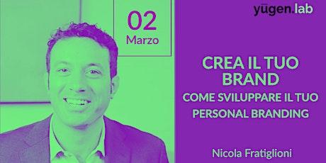 Crea il tuo Brand: come sviluppare il tuo Personal Branding biglietti