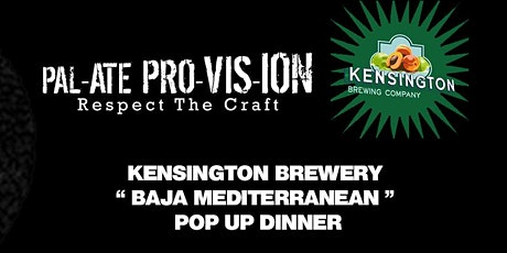 Pop-Up Beer Pairing Dinner with KBC & Palate Provision tickets