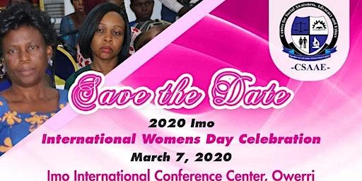 IMO INTERNATIONAL WOMEN'S DAY CELEBRATION 2020