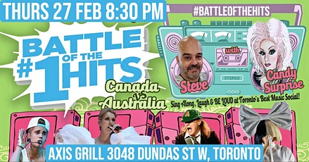 Battle of the #1 Hits - Canada Vs Australia in West Toronto tickets