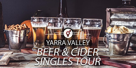 Beer & Cider Singles Tour | F 30-46, M 34-49 | March tickets