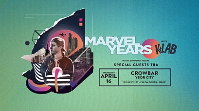 Marvel Years w. K+Lab tickets