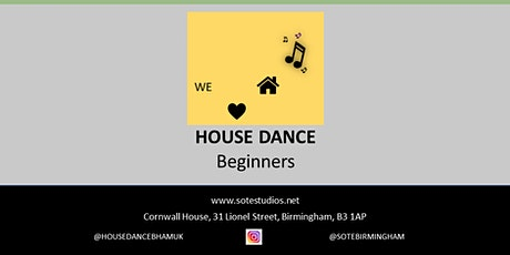 House Dance Class for Beginners tickets
